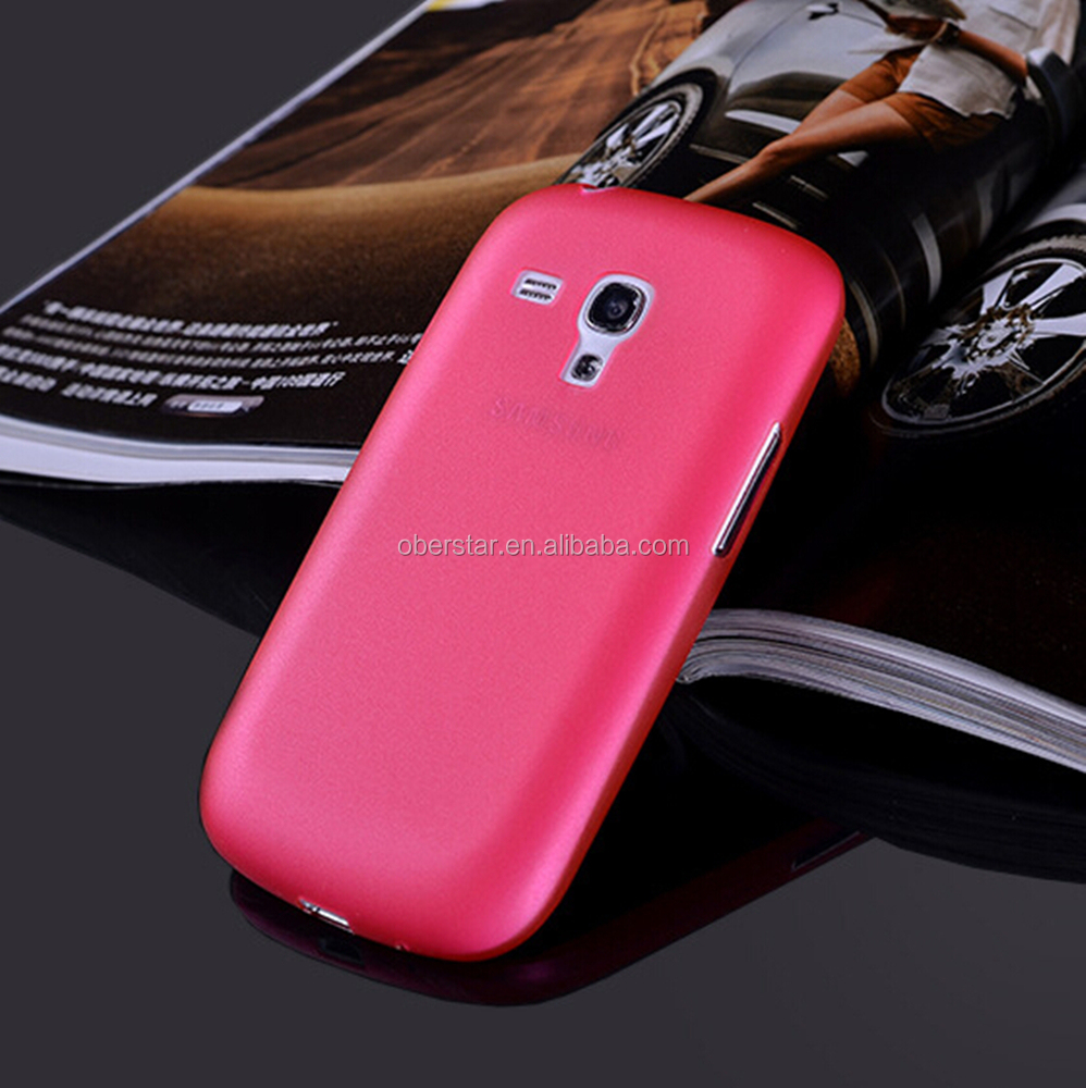 for Samsung galaxy S3 mini New Ultra Thin Slim Matte PP Transparent Phone Case