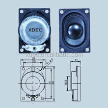 28x40mm 8ohm 1.5w branded speaker