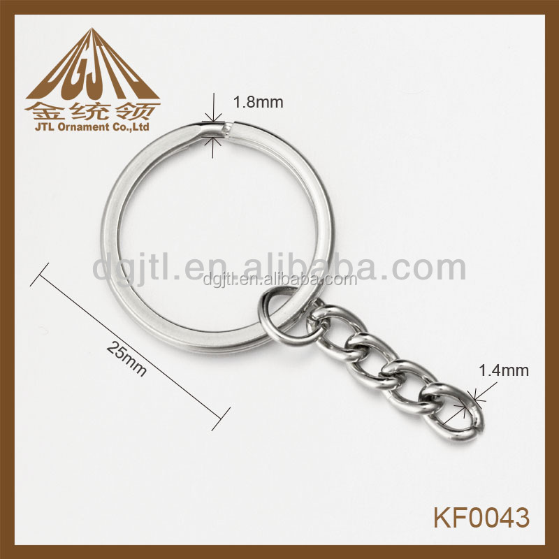 Fashion metal keychain parts and accessories