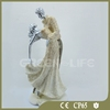 Romantic Wedding Cake Topper Bride and Groom Resin Figurine