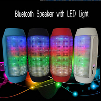 Loud sound PULSE bluetooth speaker with flashing led light