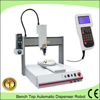3 axis automatic liquid glue dispensing robot for DowCorning high viscosity thermal silicone glue dispenser