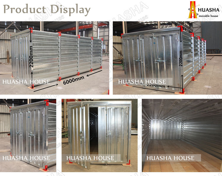 Cheap and durable container storage warehouse for sale