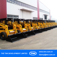 #3 Cabin rubber track loading two year warranty skid steer factory factory