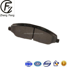 WeiFang ZHENGFENG Low Price Low Metal Brake Pad D1081 High quality Auto Brake Pad D1081 For FORD OE: 4R3Z20 6R3Z20