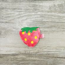 Factory Cheap Baby Girls Cute Strawberry Fruit Hair Clips Wholesale Hair Accessories