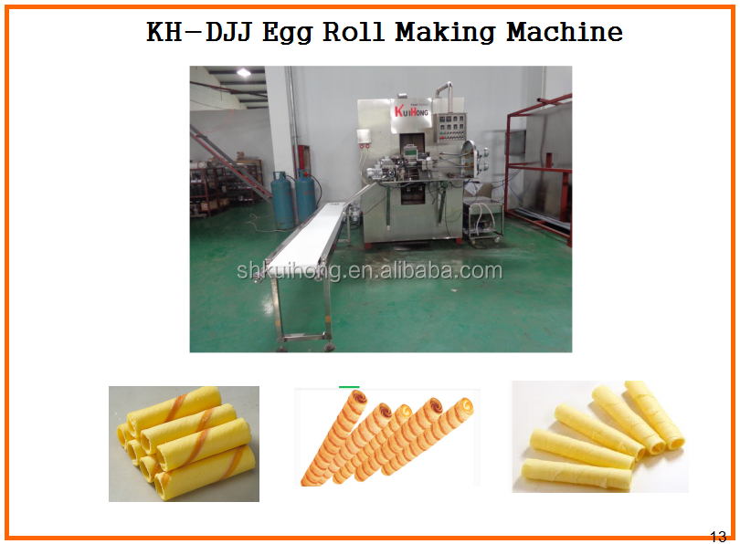 KH-DJJ chocolate wafer stick machine hot sale