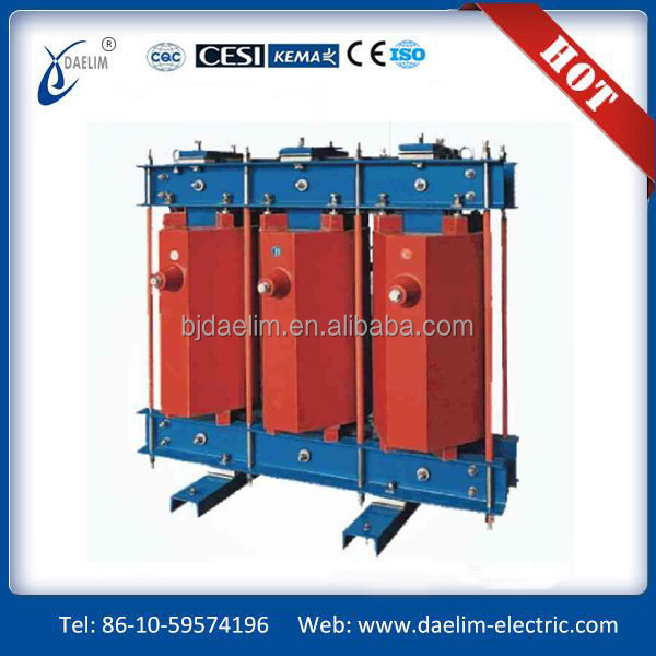 SG10 Type 160kva h-class insulation dry-type transformer
