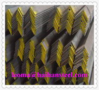 equal weight standard size metal iron of hot rolled steel angle bar made in Tianjin, China
