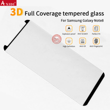 Manufacture price ! Case Friendly High transparant 9H 3D tempered glass screen protector for Galaxy Note 8