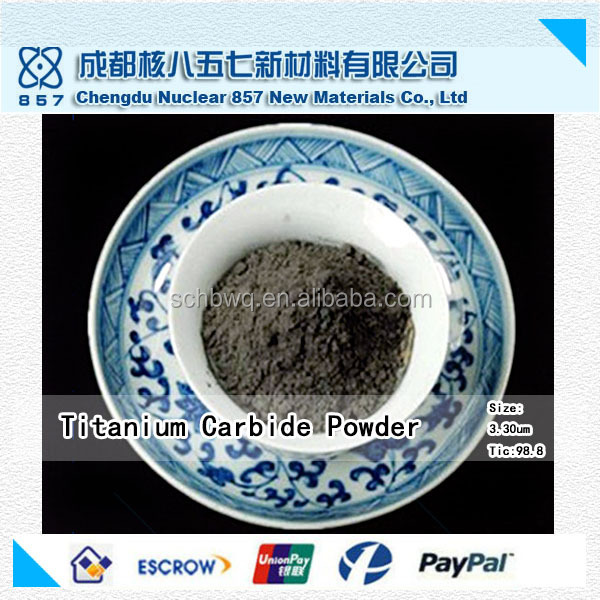China factory-outlet price of titanium carbide powder for coating