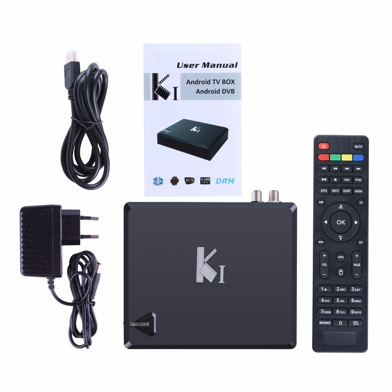 Vplus K1-AS2 Google Android 4.2 smart TV BOX Amlogic S805 Android+ DVB-S2 internet set top box
