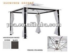 2012 hot white aluminum two tierd gazebo tent for indoor and outdoor garden