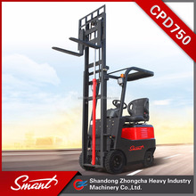 CPD750 chinese electric forklift truck for small business in Weifang