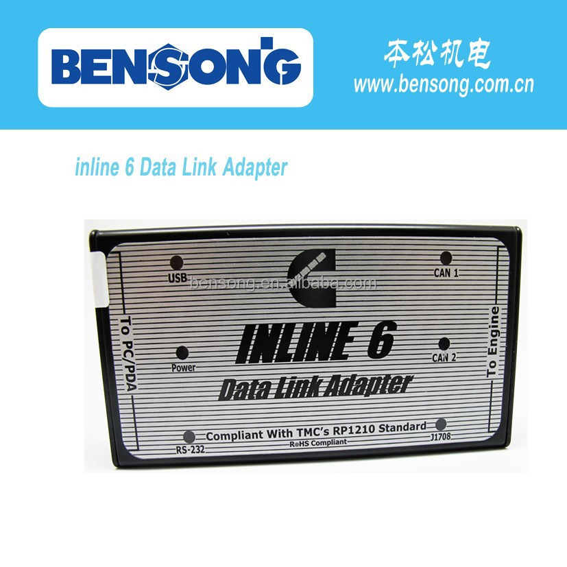 Data Link Adapter for cummins diesel engine inline 6, g scan diagnostic tool