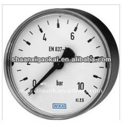 High quality lower price Miniature Bourdon tube pressure gauge 111.12