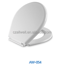 054 Oval shape toilet seat cover custom made PP toilet cover