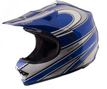 New Motor Cross Jet Off Road Helmet F601-1 Spider Red