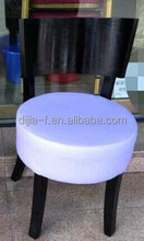 rubber wood timber round chair