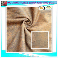 polyester leather upholstery fabric, suede fabric crumpled