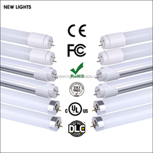 CE RoHS UL high brightness 360 degree 600mm 900mm 1200mm T8 LED Tube Light with 9W 18W 24W LED TUBE