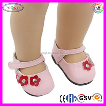A798 Cute Style Bow Leather Mini Shoes American Girl Doll Wholesale Doll Shoes