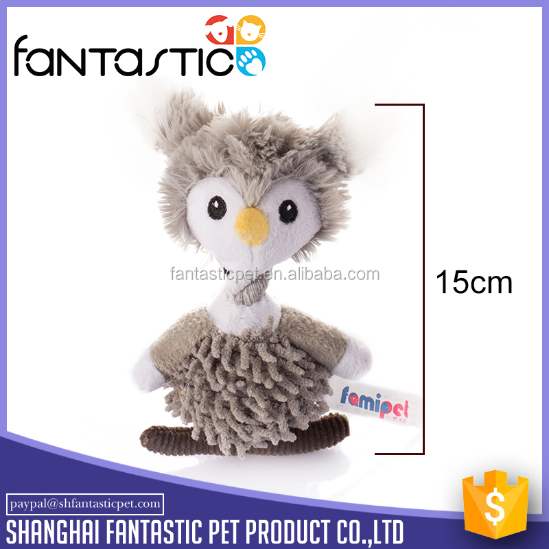 Lightweight Soft dog owl toys with 420D nylon