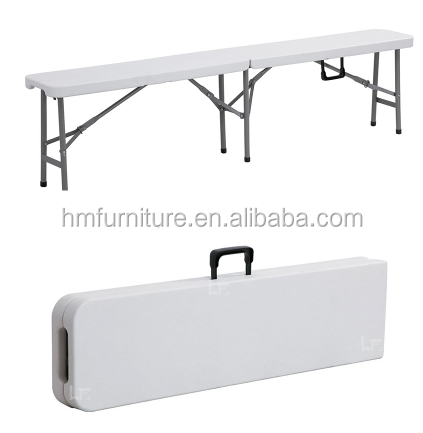 Hongma plastic folding bench