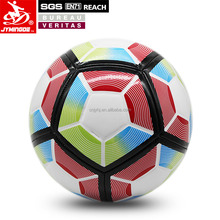 Hot selling raw materials personalized cheap soccer ball in bulk