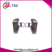 security counter turnstile flap gate barrier with barcode reader gate remote control