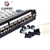 shielded cat6a modular patch panel rj45 network patch panel cat7