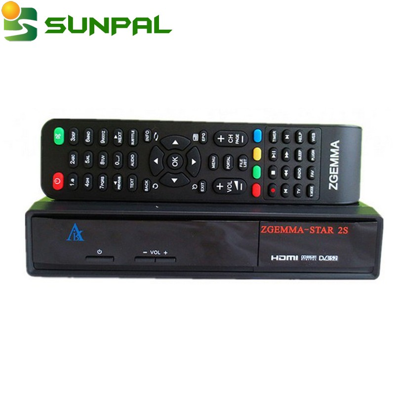 Zgemma Star 2S twin tuner DVB-S2 Satellite tv Receiver Best selling zgemma-star s2 decorder