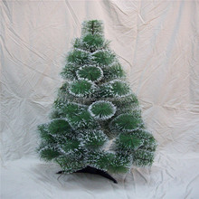 Snowing christmas tree with led for outdoor decoration