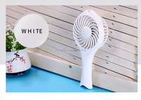 Fashion Style 1200mA Battery 5 Volt DC Big Wind Battery Operated Mini Handy Cooling Fan For Outdoor