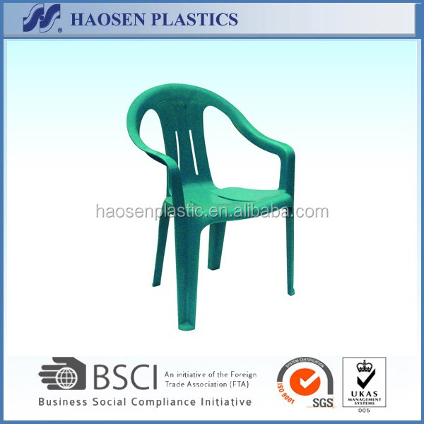 cheap modern plastic chair with arm and tablet