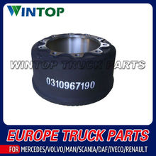 brake drum for Trailer BPW 0310967190