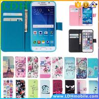 For Samsung Galaxy S3 S4 S5 S6 edge Flip Cover Wallet Cases TPU+ PU Leather Fashion Luruxy For iPhone 5 5s SE 4 4s 6 6s Plus