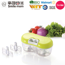 A383 Newest design manual mini food chopper as seen on tv vegetable garlic chopper