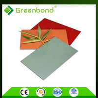 Greenbond best price polycarbonate acp sheet