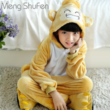 Child Baby Clothes Factory processin Monkey Pajamas wholesale Cute Cartoon Hooded Warm Homewear Cosplay Party Funny Costume