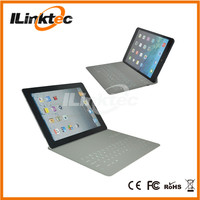 Ultra-thin Bluetooth Wireless Keyboard for ipad3, Ultra slim leather case for ipad 3