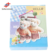2017 No.1 Yiwu agent hot sale commission sourcing agent Lovely Bear Cover Family/Wedding Photo Album