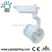 global 2/3/4 wires 30w led track light high power track rail light led