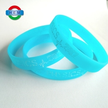 Cheap Custom Debossed Ink Filled Color Silicone Bracelet Diabetes Medical Alert Silicone Wristbands Bracelet