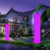 outdoor color changing led floor lamp