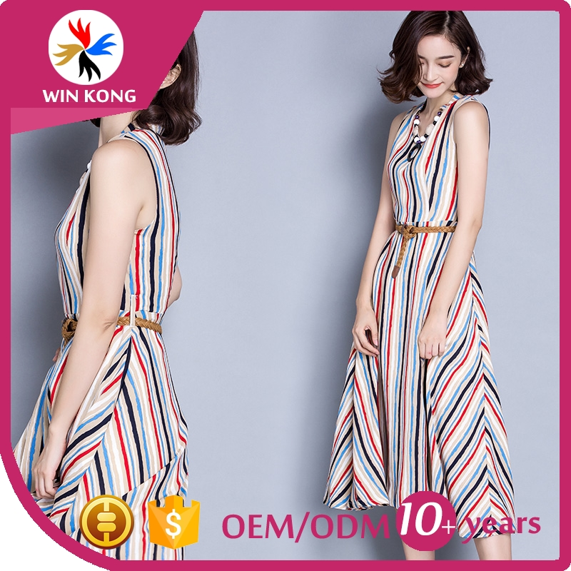 Low Price High Quality long dress bohemia long dress Vintage Ethnic summer dress for women