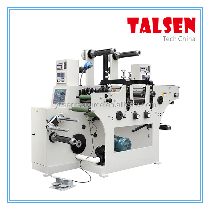 Rotary Die cutting Machine with perforation and Slitting