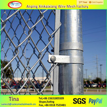 high quality hot dipped galvanized 9 gauge chain link fence with square hole