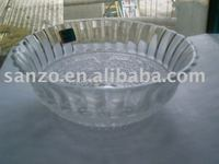 graved /clear /painting /frosted clored decorative glass bowl