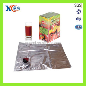 Aluminium foil juice packaging material with vitop